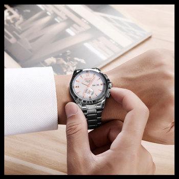 2018 Новый Бренд Часы Моды для Мужчин Кварцевые reloj Кожаный Спорт Наручные Часы мужская Авто Дата Часы relogio masculino