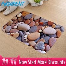 FOKUSENT Pebbles Feet Soft Floor Mat  Entrance Rug Bathroom Superior Quality Living Room Door