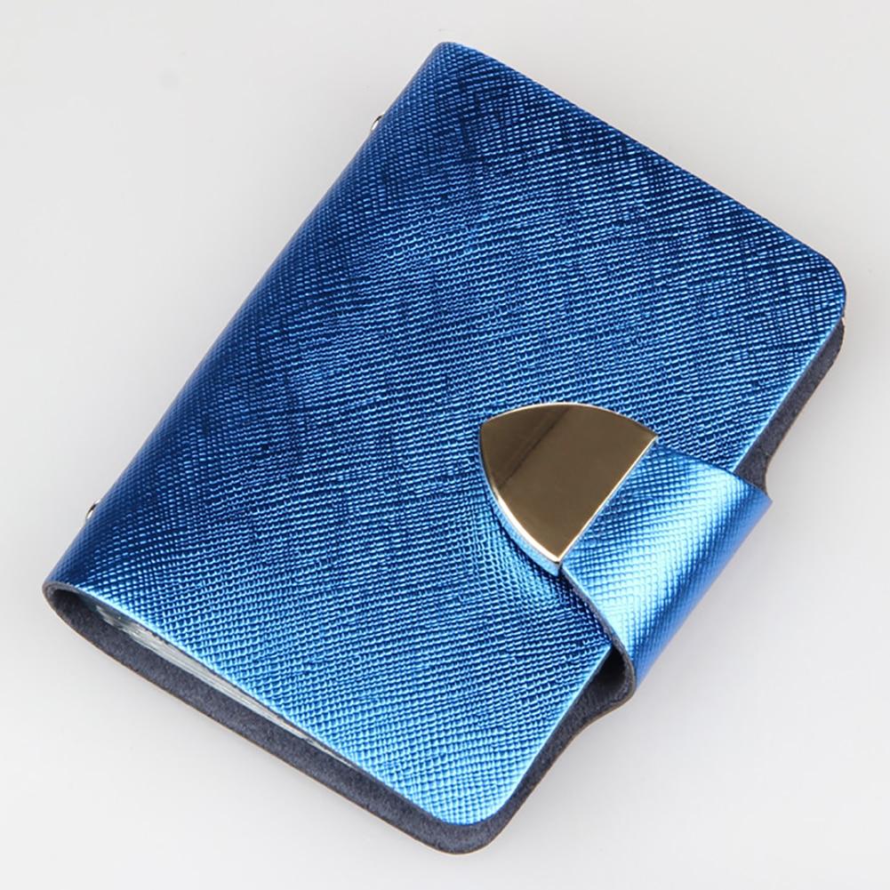 Gepäck & Taschen Kunstleder Falten Design Mehrere Kartensteckplätze Kreditkarte Id Visitenkartenhalter