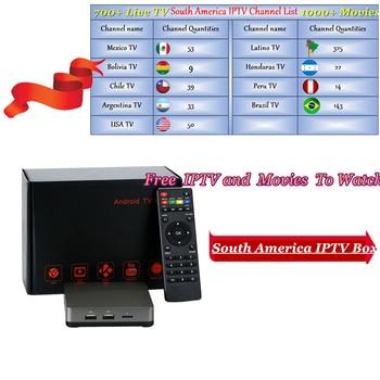 Dalletektv Leadcool Smart Android 6 0 TV Box IP TV 1 Year SUBTV