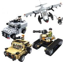 KAZI 2017 NEW 635006 Military series Building Blocks Armed assault vehicle Bricks Toys Kids Christmas gift toys for children