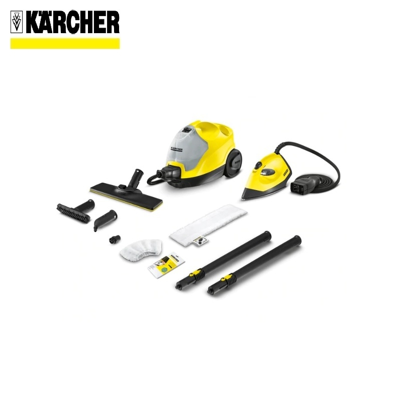 Steam cleaner KARCHER SC 4 EasyFix Iron Kit (yellow) *EU Steam generator Surface disinfection Indoor air cleaning handheld steam cleaning machine high temperature kitchen cleaner bathroom sterilization washing machine sc 952