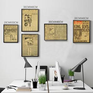 Lanxihaibao Poster Wall Art Sticker Living Room Decor