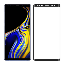 100X 9H Note9 3D Curved Full Screen Tempered Glass Protector For Samsung Galaxy Note 9 Glass Whole Screen Protective Film Clear protective clear arm screen guard film for samsung galaxy note 10 1 2014 edition p600 3 pcs