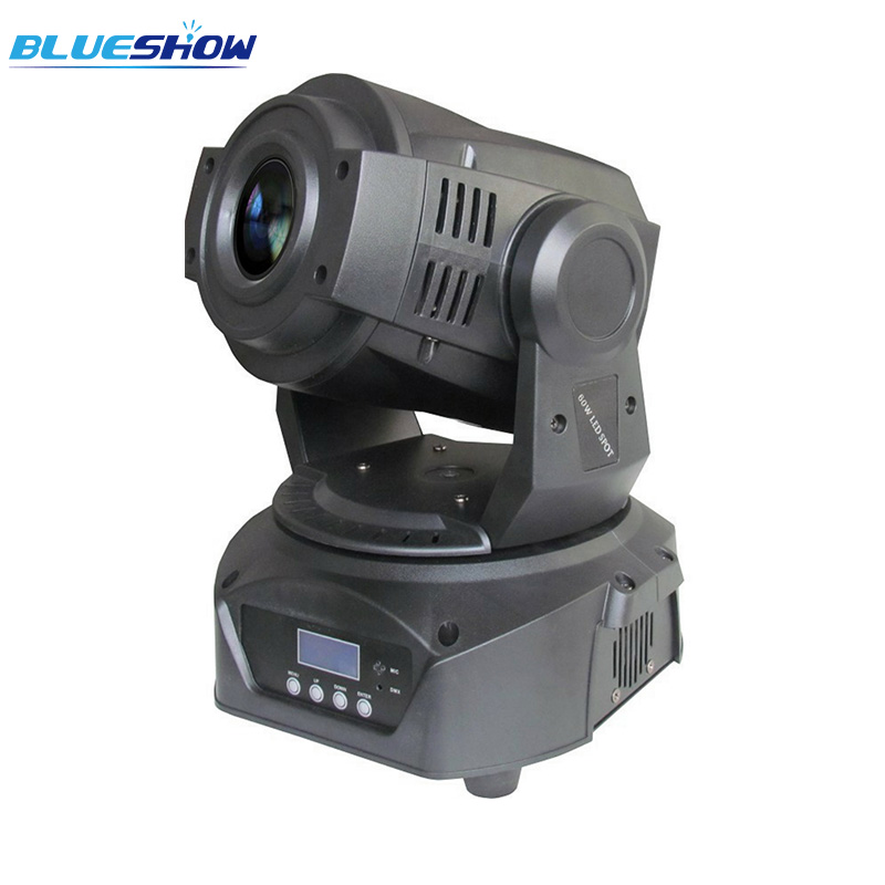 2pcs/lot, LED Moving head spot 90W RGBW LED Moving Head Stage Light DMX with 3 facet prism ktv nightclub disco american dj wash