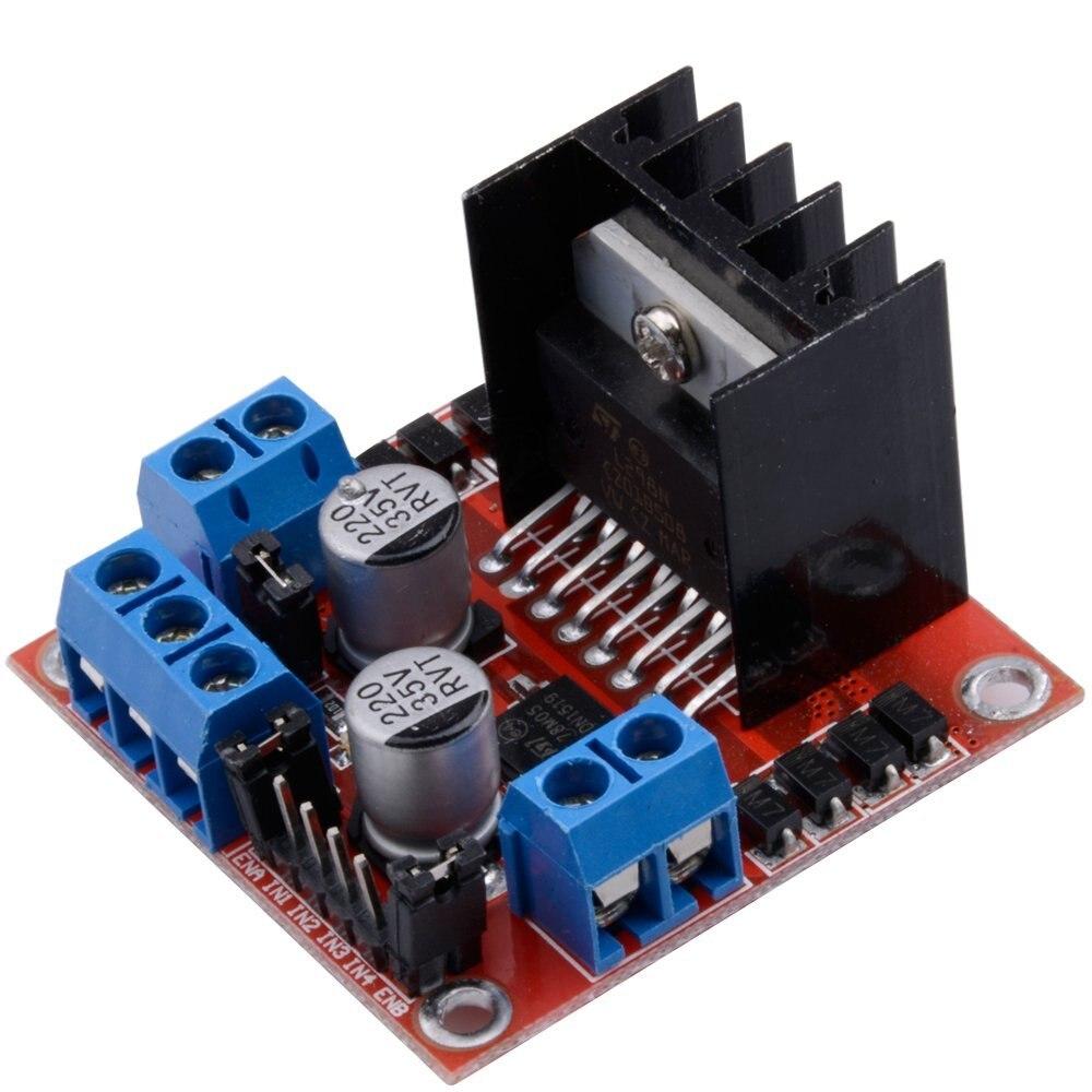 ShenzhenMaker L298N motor drive board module L298 stepper motor DC smart car robot accessory drive
