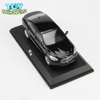 TAIHONGYU Black White 1/32 Scale Diecast KIA Car Model Toy Children Birthday Gift Collection