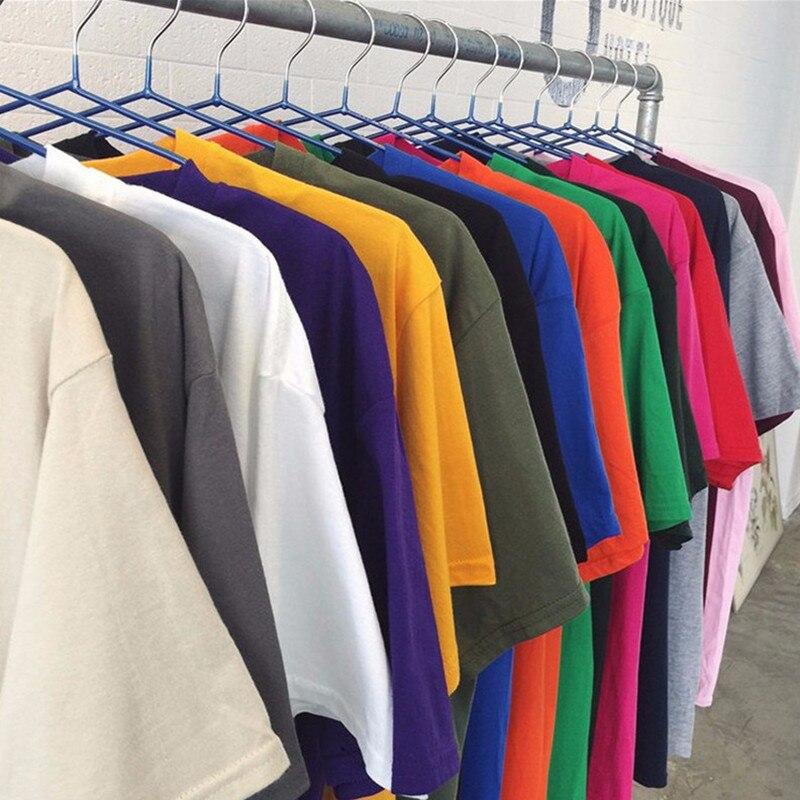 Classic Cotton Round Collar Sleeve Short Men 100% Cotton Crew Neck Compression Sufjan Tee