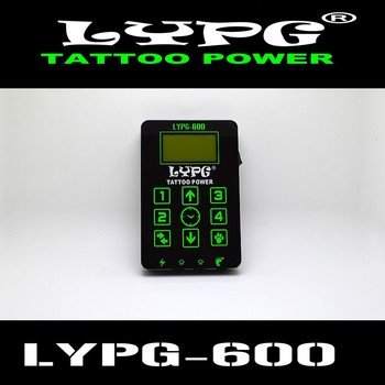 Professional LYPG Tattoo Power Supply with Power Adaptor for Coil & Rotary Tattoo Machines