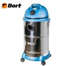 Пылесос для сухой и влажной уборки Bort BSS-1530N-Pro (Мощность 1400 Вт, вместимость пылесборника 30 л, длина шланга 6 м, функция выдува и сбора жидкости, автоотключение, подключение электроинструмента, сетевой кабель
