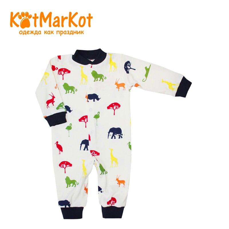 Jumpsuit Kotmarkot 6277  children clothing for baby boys kid clothes newborn baby boy girl infant warm cotton outfit jumpsuit romper bodysuit clothes
