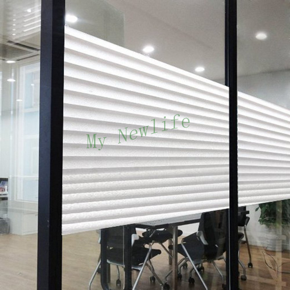 Translucent Bathroom Windows: Frosted Glass Film Office Toilet Bathroom Window Paper
