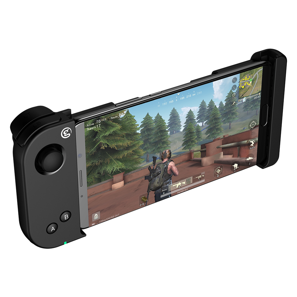 GameSir T6 Controlador Joystick Para Jogos FPS Bluetooth One-handed PUBG Stretchable Gaming Para 4.5-6.7 polegada Android telefones