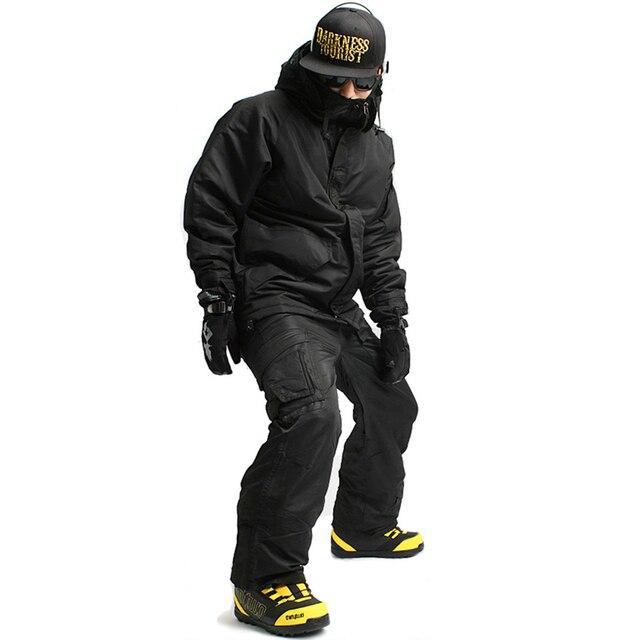 """New Premium Edition """"Southplay"""" Зима 10000 мм непромокаемые Лыжные Сноуборд (куртка + брюки для девочек) Черный Цвета Наборы ухода за кожей"""