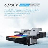New 6090 UV Printer Flatbed Printers 12 Colors 600x900mm Large Format Multifunction Digital Inkjet 3D Ceramic UV Printer