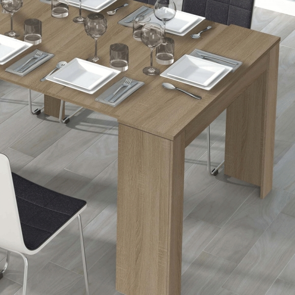 US $179.09 |HABITDESIGN Mesas consola Mesa consola extensible kendra-in  Dining Tables from Furniture on AliExpress
