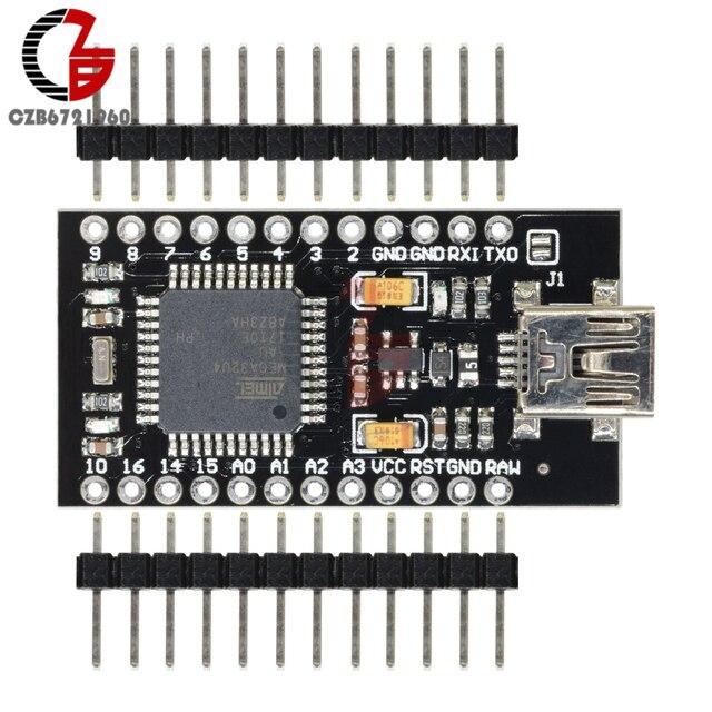 5V 16MHz Pro Micro ATmega32U4 ATMEGA32U4-AU Module Mini USB Replace ATmega328 for Arduino