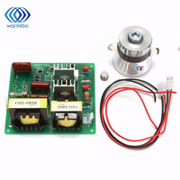 2017 New AC110V 100W 40K Ultrasonic Cleaner Power Driver Board+1PCS 60W 40K Transducer For Ultrasonic Cleaning Machines