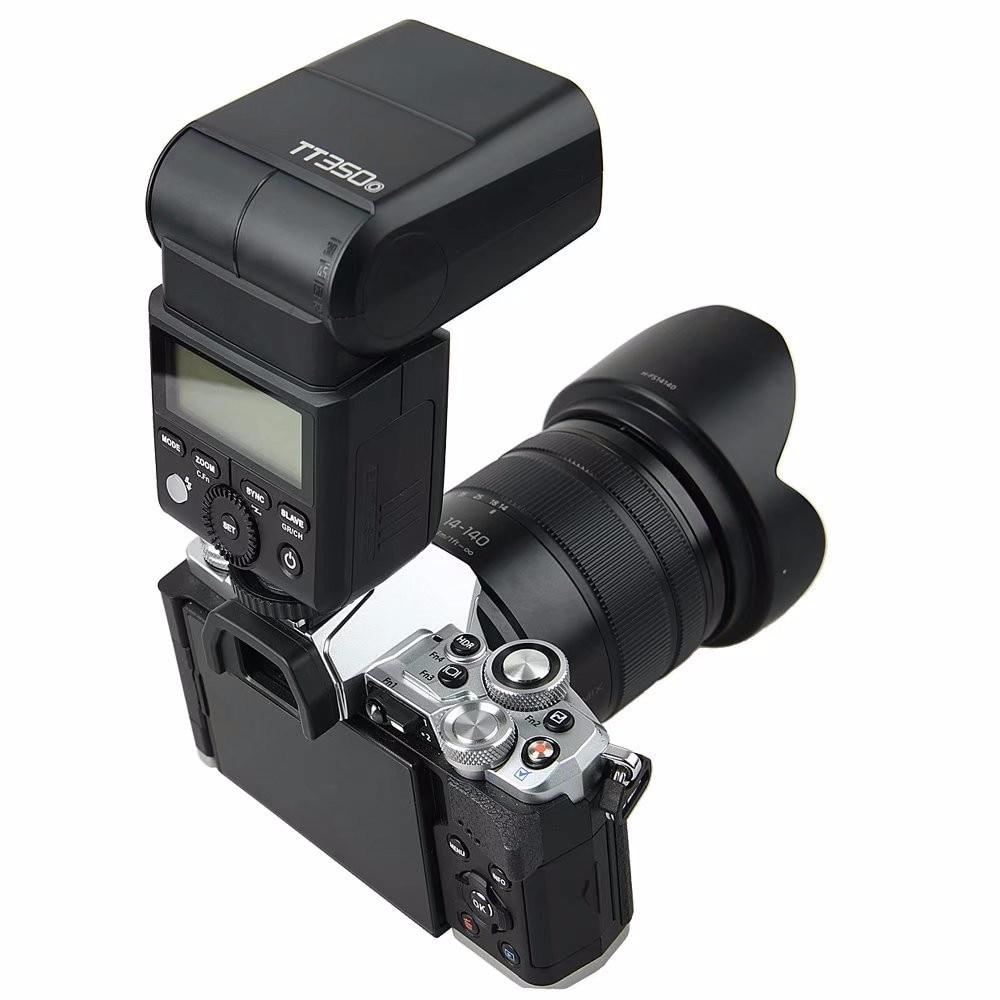 Godox TT350O 2.4G HSS 1/8000s TTL GN36 Camera Flash Speedlite For Olympus E-M5 II E-M10 III E-M1 II Panasonic GX85 GH5 GH4 GH5S