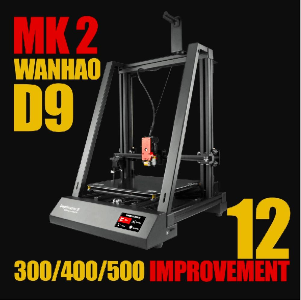 New 2019 Wanhao 3D Printer Duplicator 9 MARK II FDM 3d printer buy directly from the