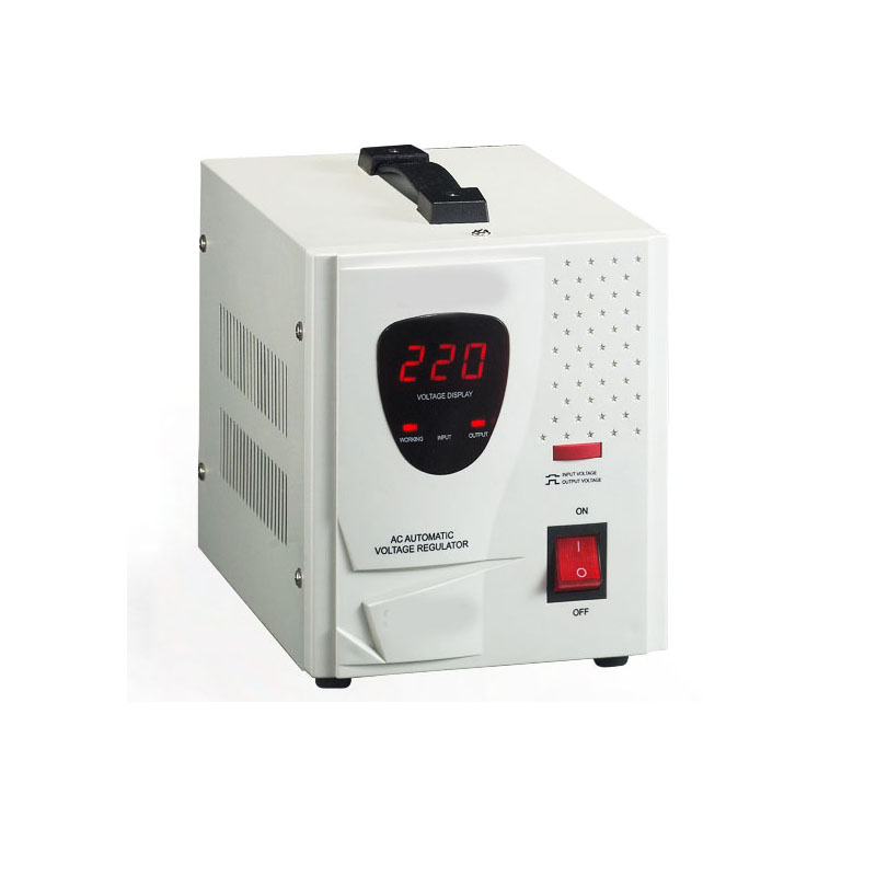 3000VA LED Relay Type Full Automatic AC Voltage Regulator Digital AC Voltage Stabilizer SDR 3000