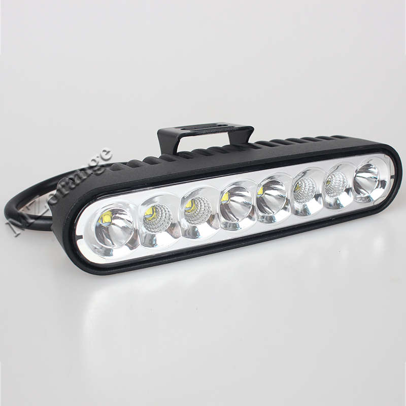 40W 7LED WORK LIGHT BAR 12V 24V COMBO DRL OFFROAD AUTO SUV 4X4 TRUCK ATV 4WD AWD MOTORCYCLE TRACTOR REVERSE LAMP DAY HEADLIGHT
