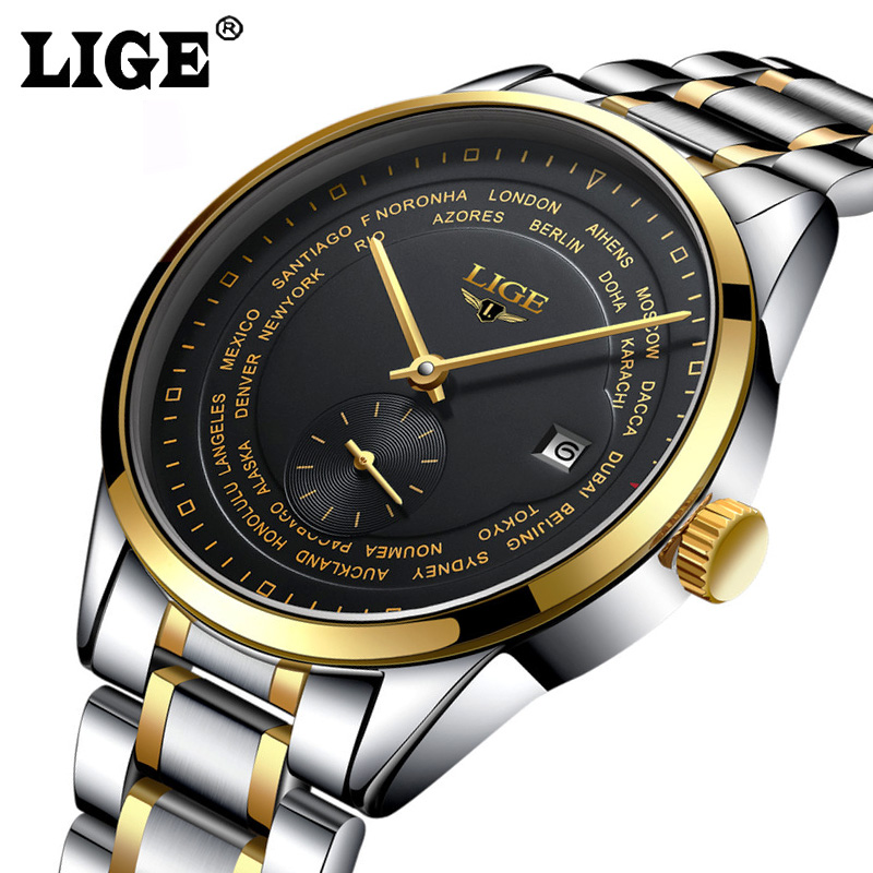 Simple Men Watches Mechanical Business Waterproof Watches Men Casual Self Wind Automatic Mechanical Wrist Watches