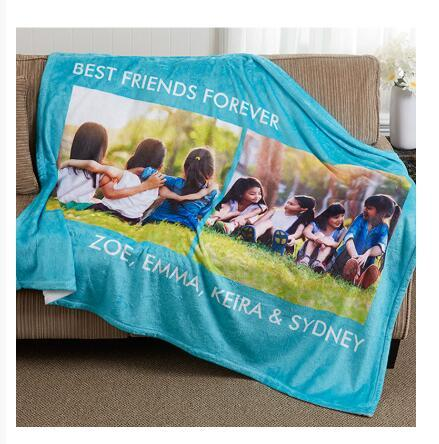Print on demand, Dropshipping Picture Perfect Personalized Fleece Photo Blanket 1