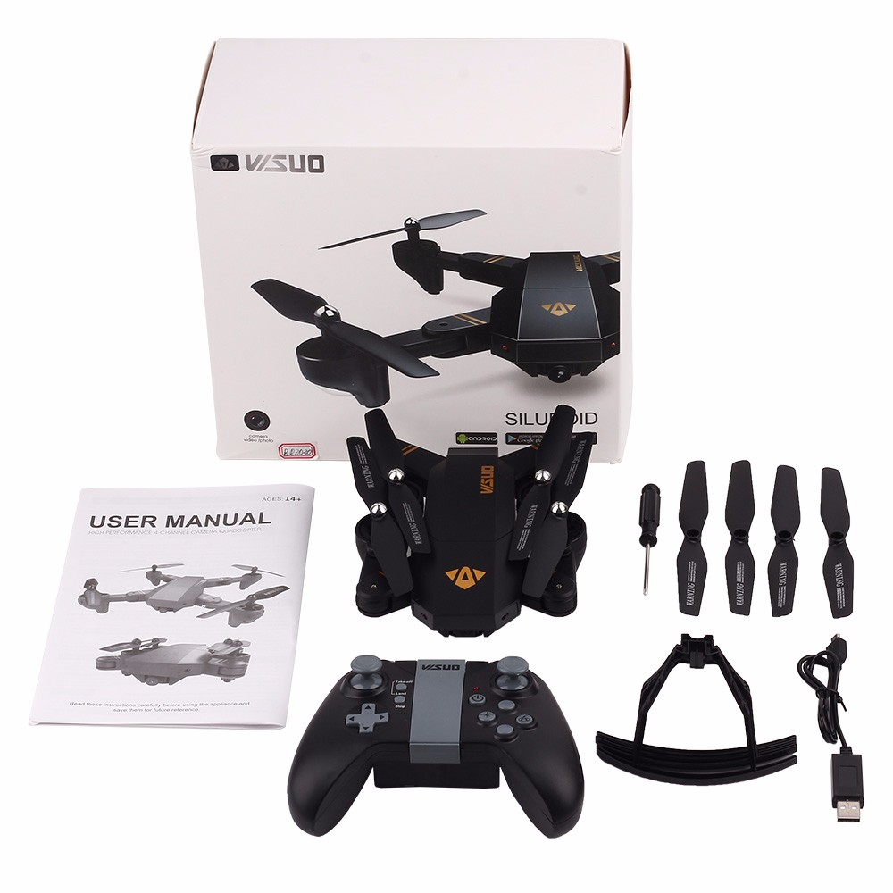 Selfie Drone With Camera XS809 XS809w Fpv Dron Rc Drone Rc Helicopter Quadcopter Mini Foldable DroneToy For Kids Gift XS809HW 12