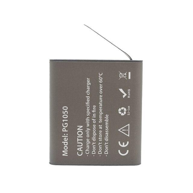 GTF 3.7V PG1050mAH Battery For EKEN Action Camera H9 H9 H3 H3R H8PRO H8R H8 pro SJ4000 SJCAM SJ5000 M10 SJ5000X Recharge battery 2