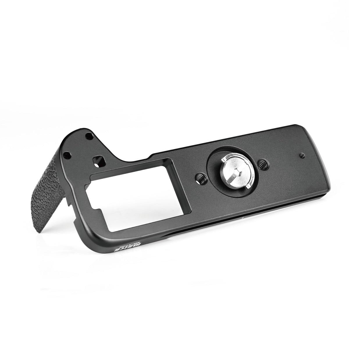 Meike MK-XT3G алюминиевый сплав рукоятка Quick Release Plate L кронштейн для Fujifilm Fuji X-T3 XT3 камера как MHG-XT3