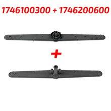 Górny i dolny zestaw ramienia natryskowego do zmywarki zamiennik dla Beko 1746100300 z 1746200600