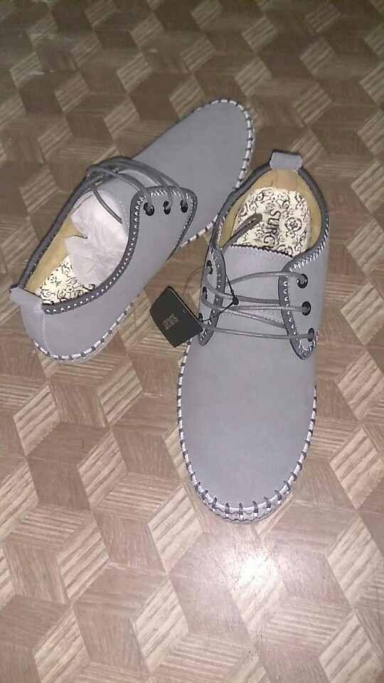 Surgut Brand Minimalist Design 100% Genuine Suede Leather Mens ... 91a1018e170