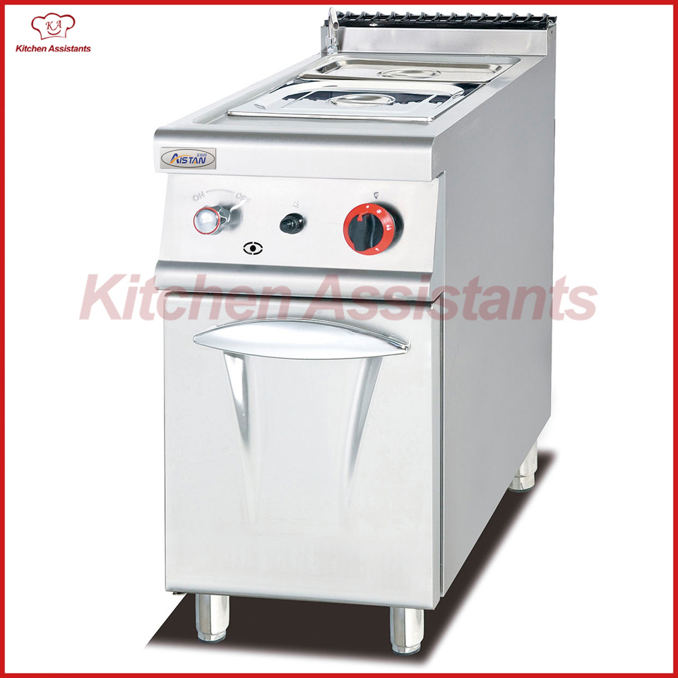 EH774 Electric Bain Marie With Cabinet of cooking equipment