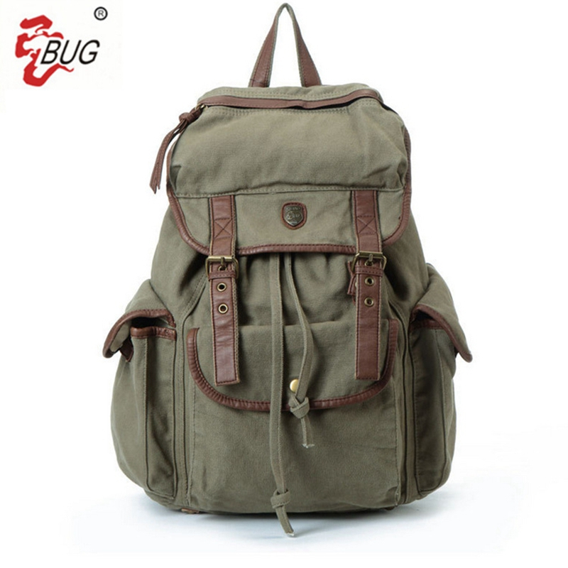 2017 New BUG Brand Vintage backpack Large Capacity men women Luggage bag canvas travel bags Top quality travel duffle bag vintage backpack large capacity men male luggage bag school travel duffle bags large high quality escolares new fashion