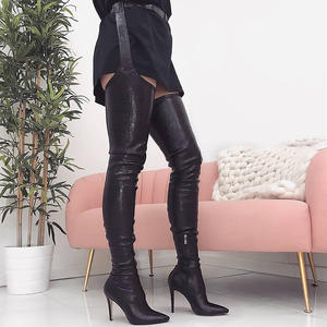 49763cab2ecf top 10 most popular over the knee boots women heels pointed brands