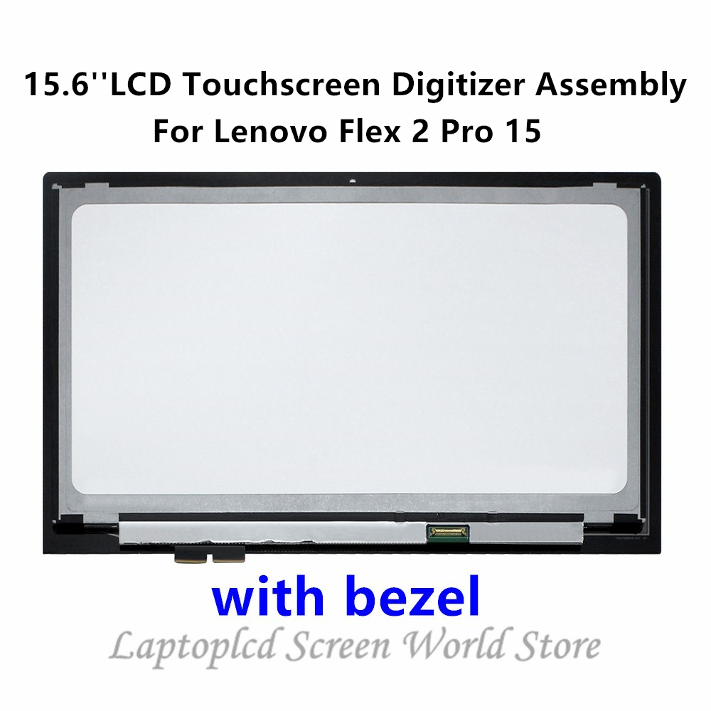Ftdlcd 15.6 Lcd Display Touchscreen Digitizer Assembly+bezel Repair Laptop For Lenovo Flex 2 Pro 15 1920x1080 Suitable For Men Women And Children