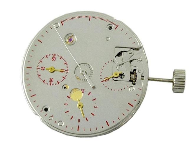 clone eta hand winding chronograph watch movement