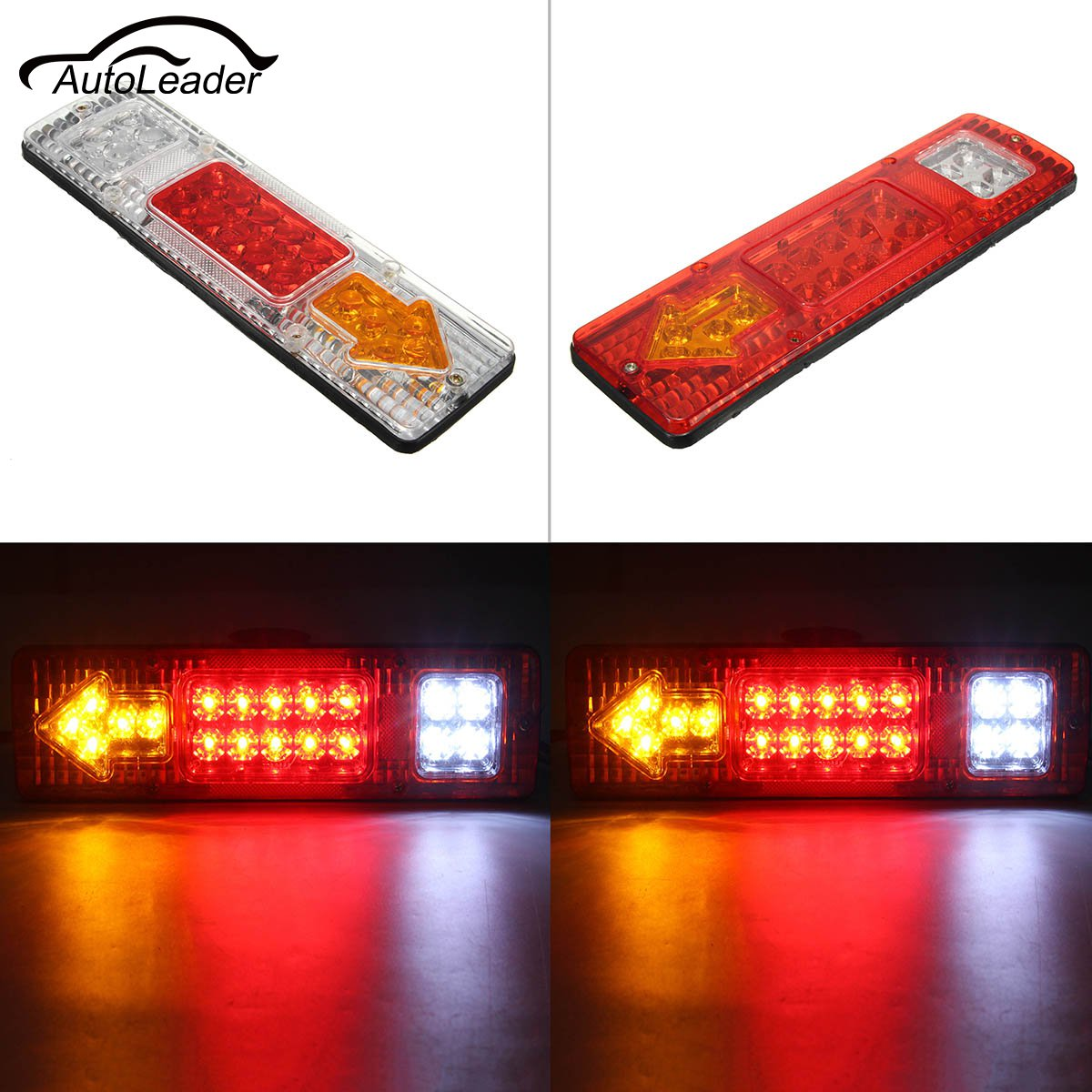 Automobiles & Motorcycles Nice Side Marker Light Lamp 1 Pair Dc 24v 6 Led Bus Van Truck Lorry Trailer Indicator 828 Promotion Truck Light System