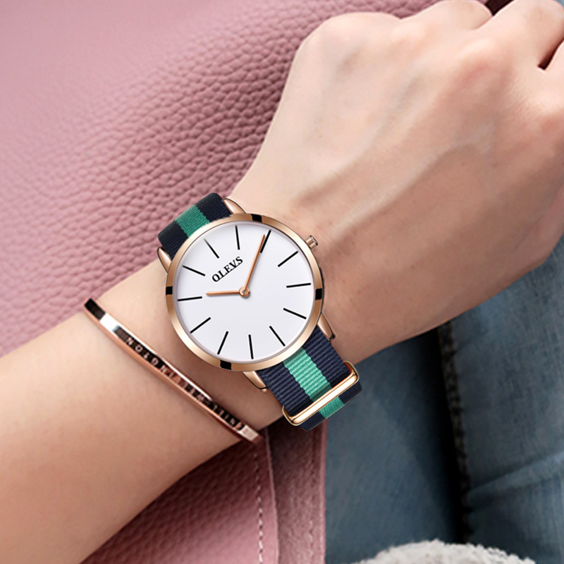 OLEVS Luxury Brand Fashion Female Wristwatch Quartz Leather Bracelet Watches Women Ladies Watch Casual Clock Relogio Feminino leather fashion brand bracelet watches women ladies casual quartz watch hollow wrist watch wristwatch clock relogio feminino