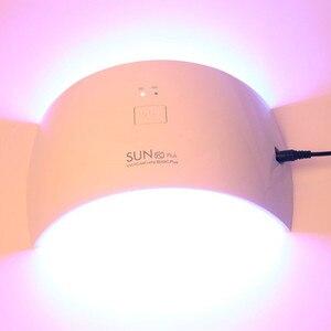 Image 4 - 36 ワット led ランプ LED ランプ SUN9c プラス UV ランプ爪ネイルドライヤーですべてのゲル 30 s/60 s ネイルドライヤー