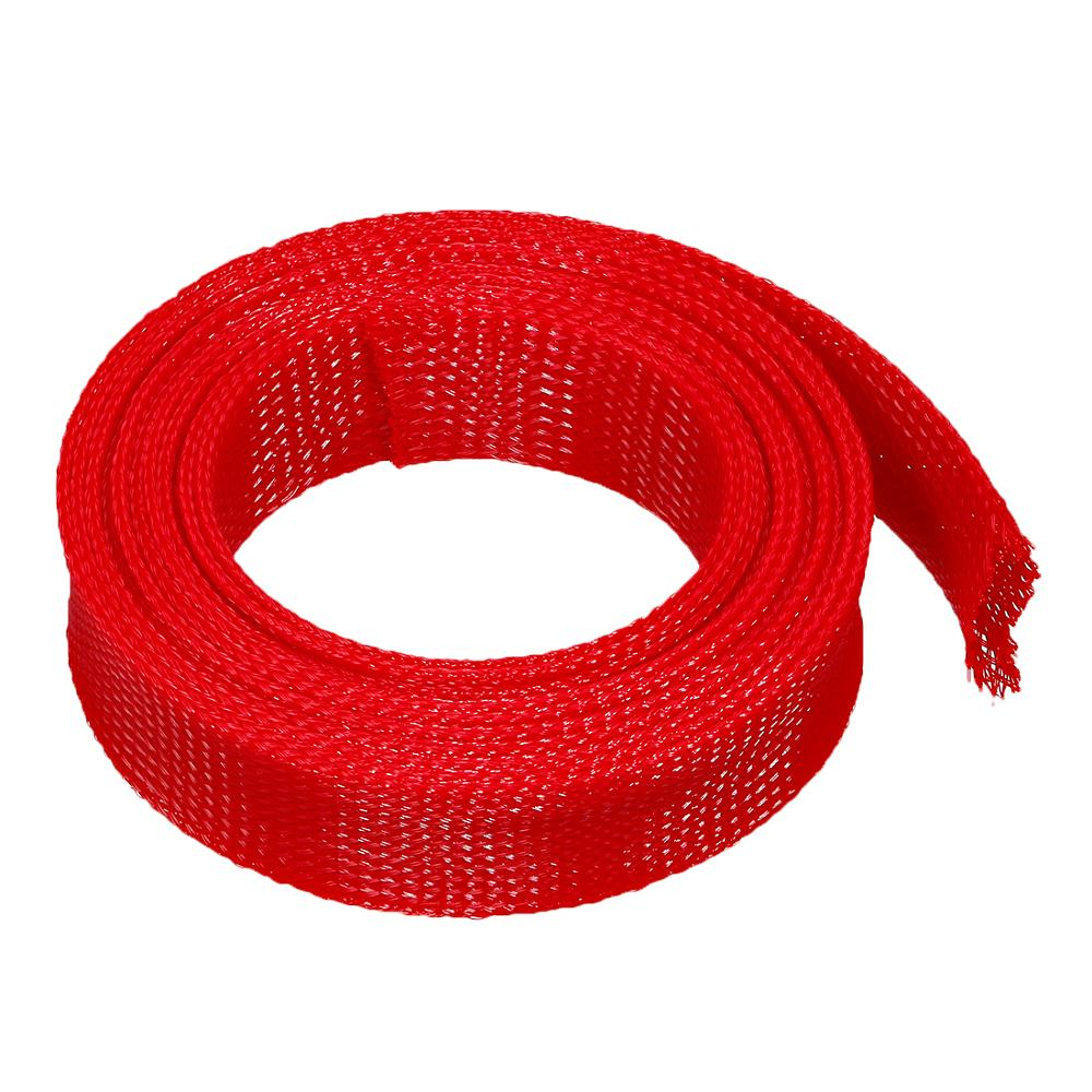 uxcell/® 50mm PET Cable Wire Wrap Expandable Braided Sleeving 3 Meter