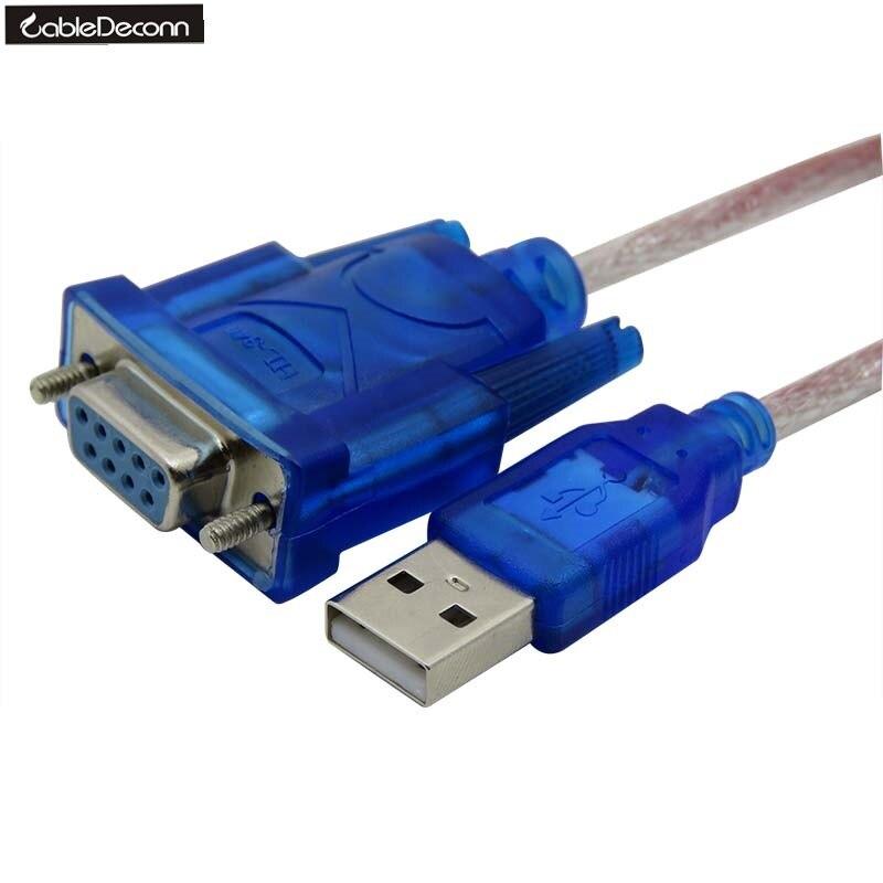USB2.0 zu RS232 Weibliche adapter Kabel USB zu DB9 loch weibliche kabel adapter für kassierer label drucker led-anzeige scanner pos