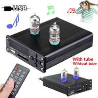 6J1 Vacuum Tube Pre Amplifier Stereo Preamp USB DAC HiFi Lossless Music Player Durable Quality