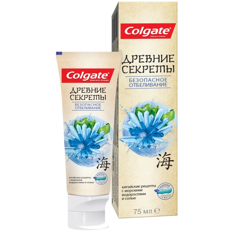 COLGATE toothpaste ancient secrets safe whitening 75 ml-in