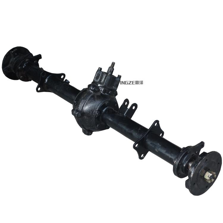 Go Kart Parts & Accessories Diplomatic Diy Four Wheel Go Kart Karting Atv Utv Buggy Transmission 1m Rear Axle With Gear Ration 14:37 Differential
