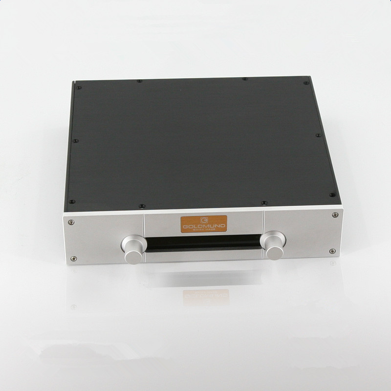 BZ3207E All-aluminum Preamplifier Chassis Power Amp Enclosure Audio Pre-Amp Case DIY Box цена 2017