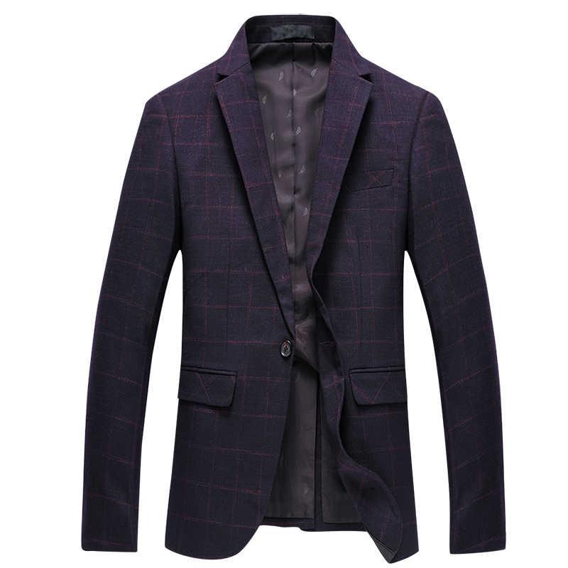 YUNCLOS 2019 男性用ウェディングスーツ古典的な 1 ボタンスリムフィットメンズスーツタキシードジャケット 2 枚のジャケットブレザーとパンツスーツパーティードレス