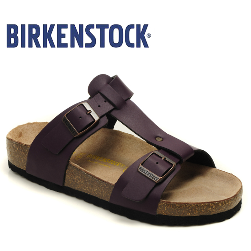 2018 New Arrival BIRKENSTOCK high quality Unisex summer flat shoes - Men's Shoes