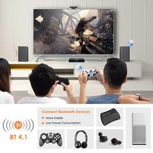 Image 3 - Leelbox Q4 Plus Android 9.0 Smart TV BOX Rockchip RK3328 Quad Core unterstützung 2,4G Drahtlose WIFI media box Set  top Box